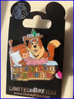 Disney Pin NURSES DAY 2017 MISPRINT Limited LE Nana Michael Darling Peter Pan