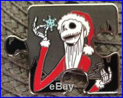 Disney Pin Nightmare Before Christmas Character Connection Jack Santa Chaser NBC