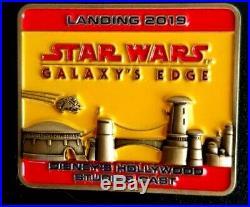 Disney Pin STAR WARS GALAXYS EDGE 2019 Landing OPENING CAST MEMBER Exclusive
