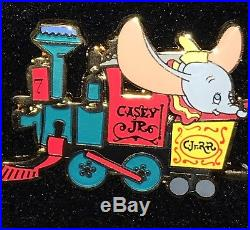 Disney Pin WDI LE 300 Dumbo Casey Jr Train Complete Set of 5