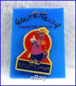 Disney Pin WDW Epcot Center 1982 Figment Tourist Journey into Imagination