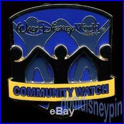 Disney Pin Walt Disney World Community Watch (2015) Rare Cast Member