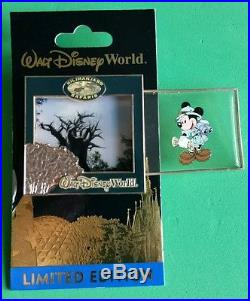 Disney Pin- Walt Disney World Parks and Attractions POM Complete 4 pin set VHTF