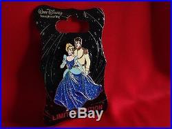Disney Pins 2016 WDI Princess Cinderella & Prince Charming Dancing Pin+2017 Map