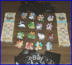 Disney Pins Fairy Tails Pin Event Complete Mystery Set 16 Pin Set With Chasers