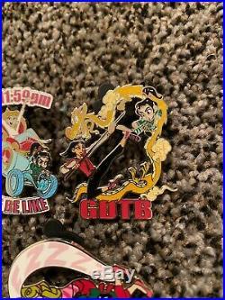 Disney Pins Lot Wreck It Ralph 2 Vanellope and Princesses