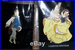Disney Pins Lot of 12 Princesses & Princes from WDW Princess Ball 2002 NEW LE