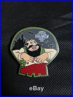 Disney Pins MNSSHP 2018 Mickeys Halloween Party Completed Mystery Pin Set Of 12