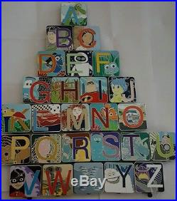 Disney Pixar Alphabet Mystery Collection Complete Limited Release Set of 26 Pins
