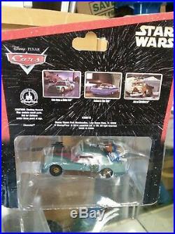 Disney Pixar Cars Star Wars Complete Set of 6 pcs, Series 1 +2 theme park excl