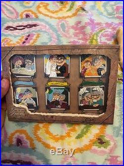 Disney Pixar Love is an Adventure Up Carl Ellie Through the Years LE 300 Pin Set