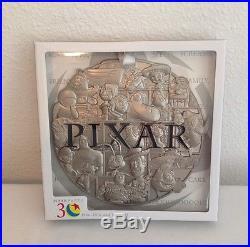 Disney Pixar Party Pin Event Pixar Character Super Jumbo Pin Le 500 + Gift Card