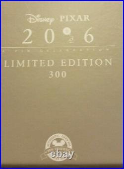 Disney Pixar Party Pin Event Pixar Movie Quotes Box Set Le 300 Free Shipping