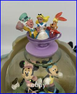 Disney Pixar Snow Globe Disneyland Theme Park Mickey and Minnie + 15 Characters