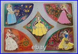 Disney Shopping Princess Garden Card 5 pin set LE 1000 PIN 56541