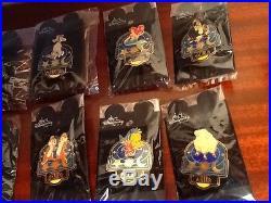 Disney Signs of the Zodiac Astrology 3D Pin Set