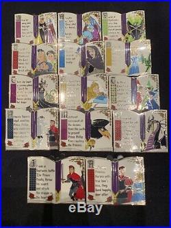 Disney Sleeping Beauty 60th Ann Mystery Complete 14-Pin Storybook Set Aurora LR