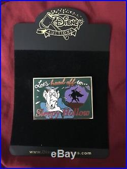 Disney Sleepy Hollow Headless Horseman Pin. RARE. Beautiful