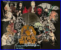 Disney Star Wars Weekends Super Jumbo Pin 2006 New In Box Coa Le 750