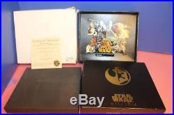 Disney Star Wars Weekends Super Jumbo Pin 2006 New In Box Coa Wdw