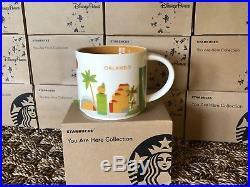 Disney Starbucks set of 4 theme park mugs and 1 Orlando mug (5mugs) v1