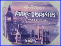 Disney Store Pin Commemorative Mary Poppins Collection Tin Set 30th Anniversary