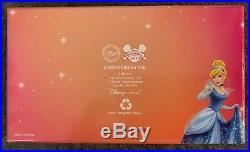 Disney Store UK Cinderella 4 Pin Boxed Set LE /150 Complete 99166 Jaq Gus HTF
