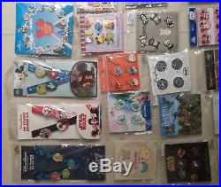 Disney TRADING PINS! Brand New 100pins Booster pack lot choose 10Sets