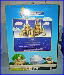 Disney Theme Park Cinderella Castle Playset MIB