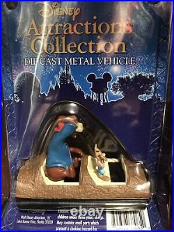 Disney Theme Park Collection Die Cast Metal Splash Mountain Ride Vehicle RETIRED