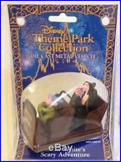 Disney Theme Park Collection Die Cast Metal Vehicle Snow Whites Scary Adventures