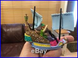 Disney Theme Park Collection Die Cast Vehicle 10 PC. LOT Monorail Playset Parade