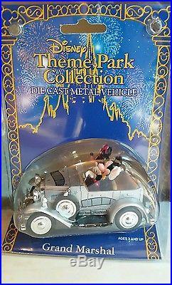 Disney Theme Park Collection Die Cast Vehicle Retired Grand Marshal Vehicle-NIP