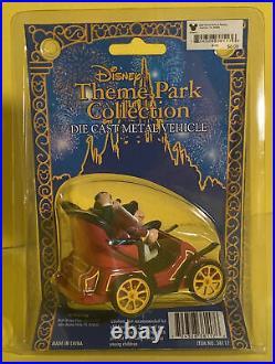 Disney Theme Park Collection MR. TOADS WILD RIDE Metal Die Cast Vehicle RARE
