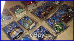 Disney Theme Park Diecast Metal Vehicles Lot of 15 NEW Aladdin Star Wars Backlot