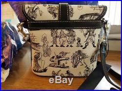 Disney Theme Park Dooney and Bourke Pirates of the Caribbean Crossbody Bag New