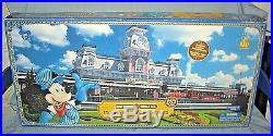 Disney Theme Park Main Street Train Station MIB