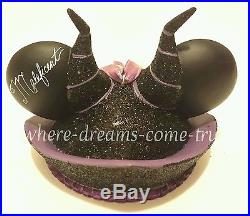 Disney Theme Park Maleficent Ear Hat Ornament Limited Edition 4637/6500 NEW