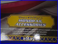 Disney Theme Park Monorail Accessories Polynesian Signs MIB Unopened