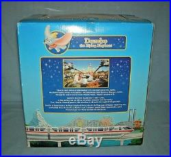 Disney Theme Park Monorail Dumbo the Flying Elephant Playset MIB