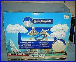 Disney Theme Park Monorail Space Mountain Playset withCharacters MIB