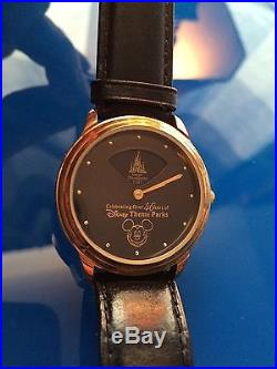 Disney Theme Parks 40 Years Limited Edition Watch
