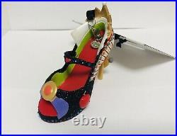 Disney Theme Parks Snow White Evil Queen High Heel Shoe Ornament