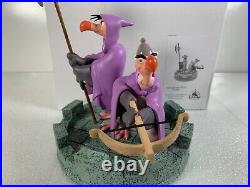 Disney Theme Parks Trigger and Nutsy from Robin Hood Medium Big Figurine + Box