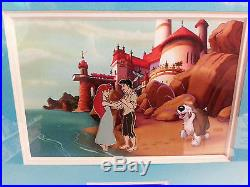 Disney This is Love Ariel Little Mermaid Ursula 4 Pin Framed Set LE25