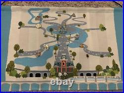 Disney Tiny Kingdom Series 1 Map & Pins