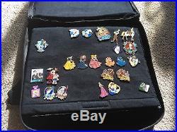 Disney Trading Pins & Disney Soda Fountain Bag DSF Includes 136 Pins DLR WDW LE