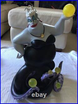 Disney URSULA Little Mermaid Big Figure Figurine Statue MASSIVE 27 Has Flaws