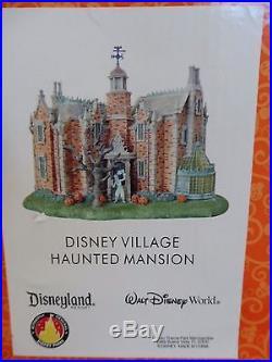 Disney Village Haunted Mansion Walt Disney World Disneyland Theme Park Rare HTF