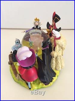 Disney Villains Fortune Teller Snowglobe Maleficent Theme Park Exclusive RARE
